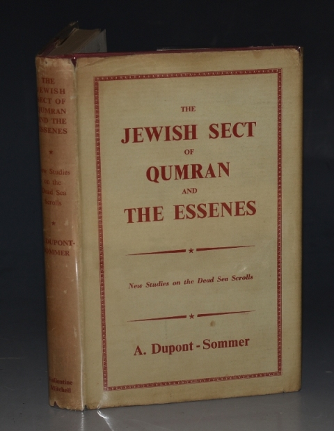 Image for The Jewish Sect of Qumran and The Essenes New Studies on the Dead Sea Scrolls. Translated from the French by R. D. Barnett.