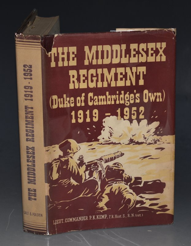 Image for The Middlesex Regiment (Duke of Cambridge's Own) 1919-1952. Compiled under the direction of a Regimental Committee.
