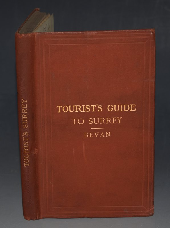 Image for Tourist's Guide to the County of Surrey Containing full information concerning All its Favourite Places of Resort. Revised and Edited by R.N. Worth. Fourth Edition. With two maps.