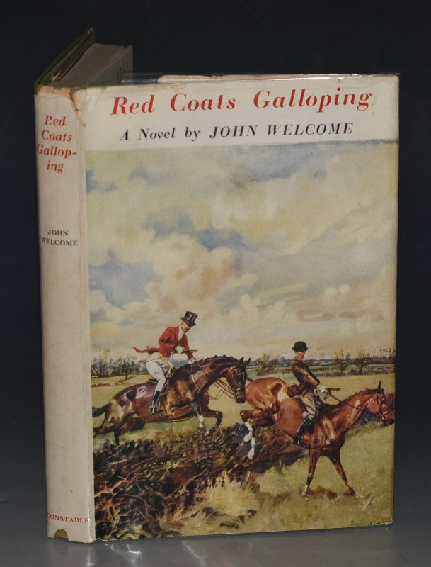 Image for Red Coats Galloping A Novel.