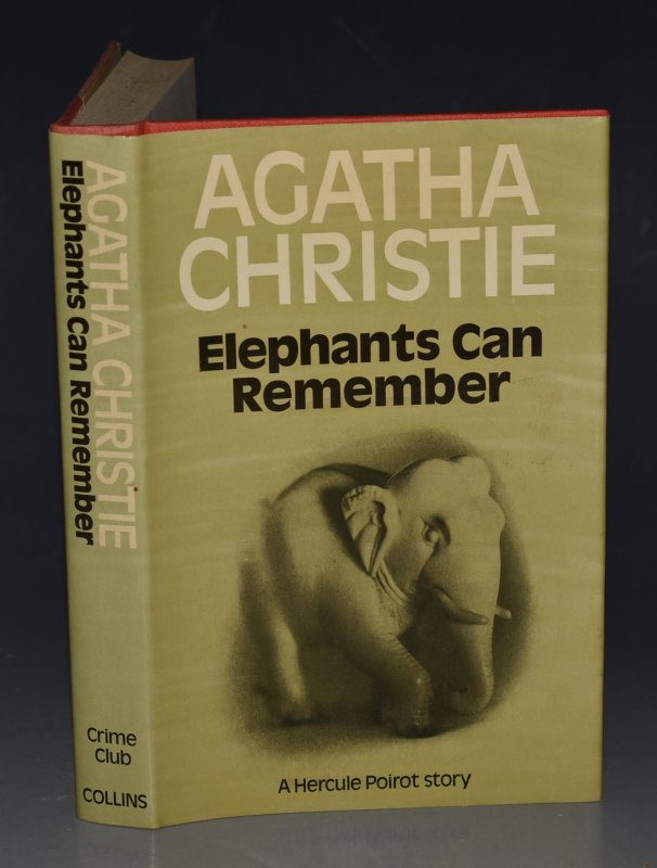 Image for Elephants Can Remember A Hercule Poirot Story.