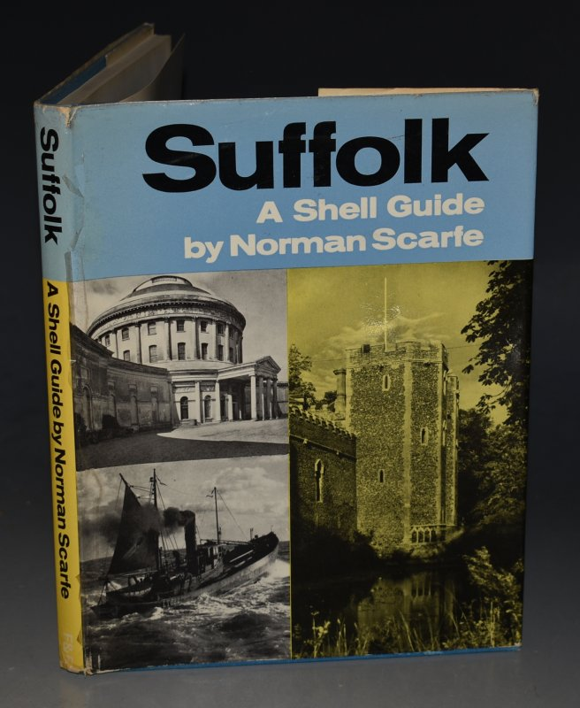 Image for Suffolk. A Shell Guide. Edited by John Betjeman and John Piper.