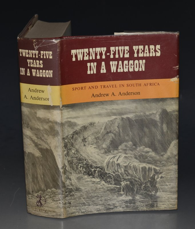 Image for Twenty-Five Years in a Wagon Sport and Travel in South Africa. With Illustrations by the Author. Limited Numbered Edition