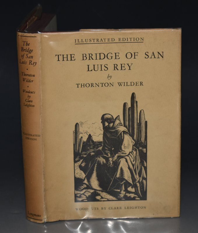 Image for The Bridge of San Luis Rey Illustrated Edition.