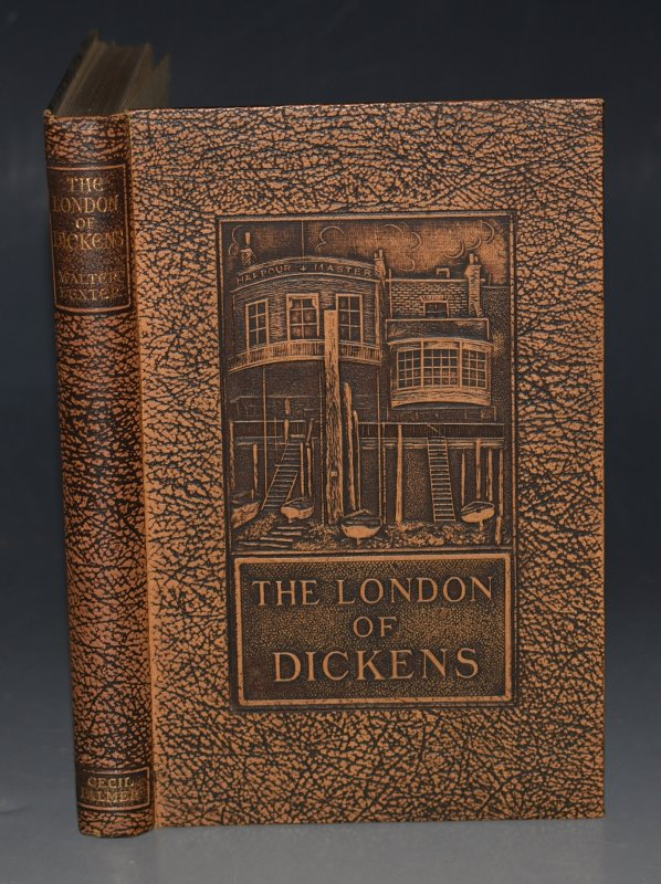 Image for The London of Dickens With illustrations from photographs by the author.