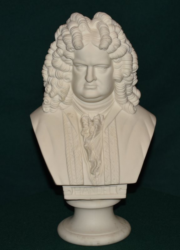 Image for Parian bust of Music Composer Handel