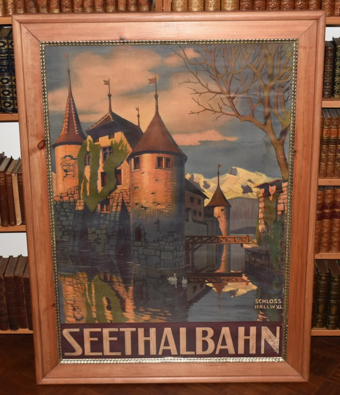 Image for Swiss Poster Seethalbahn, Schloss Hallwyl (Switzerland)