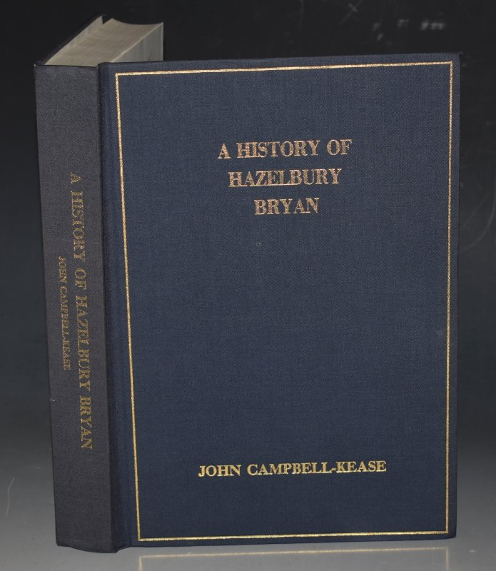 Image for A History of Hazelbury Bryan. RARE Signed Copy