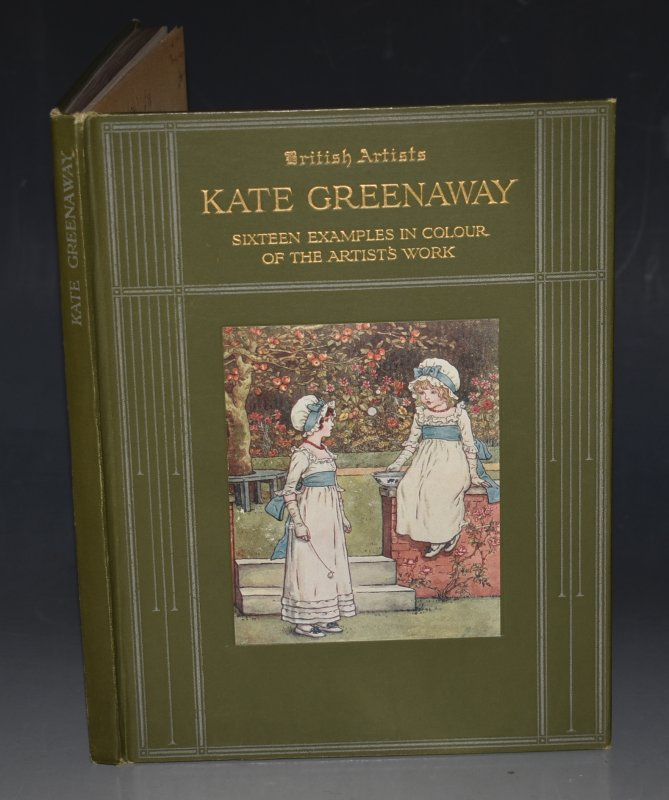"Image for Kate Greenaway Sixteen Examples in Colour of the Artist's Work. ""British Artists"" Series."