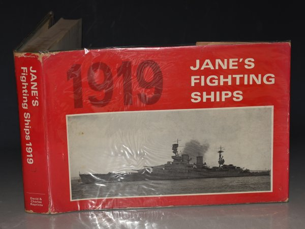 Image for Jane's Fighting Ships 1919 A Reprint of the 1919 Edition of Fighting Ships. Including a chapter on the Progress of Marine Engineering by Charles De Grave Sells.