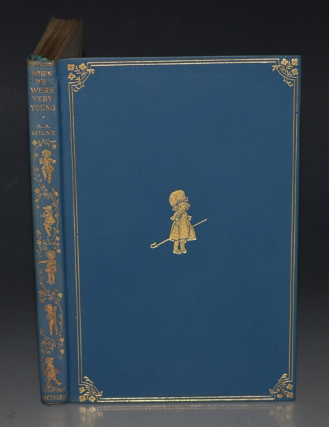 Image for When We Were Very Young. With decorations by Ernest H. Shepard. Tenth edition, In Second Issue Deluxe Fine Leather Binding.