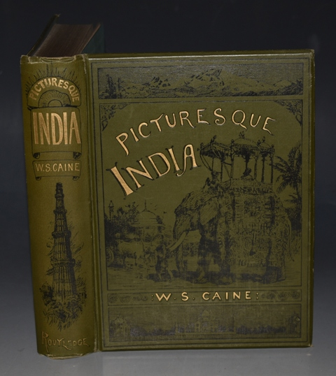 Image for Picturesque India A Handbook for European Travellers. Illustrations Drawn by John Pedder, H. Sheppard Dale, and H.H. Stanton.