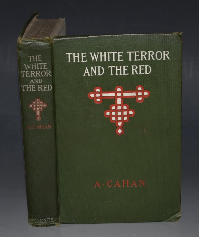Image for The White Terror and The Red A Novel of Revolutionary Russia.