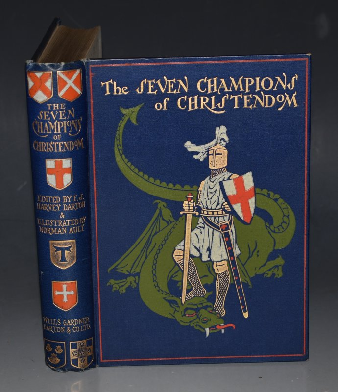 Image for The Seven Champions of Christendom Edited by F.J. Harvey Darton. Illustrated by Norman Ault.
