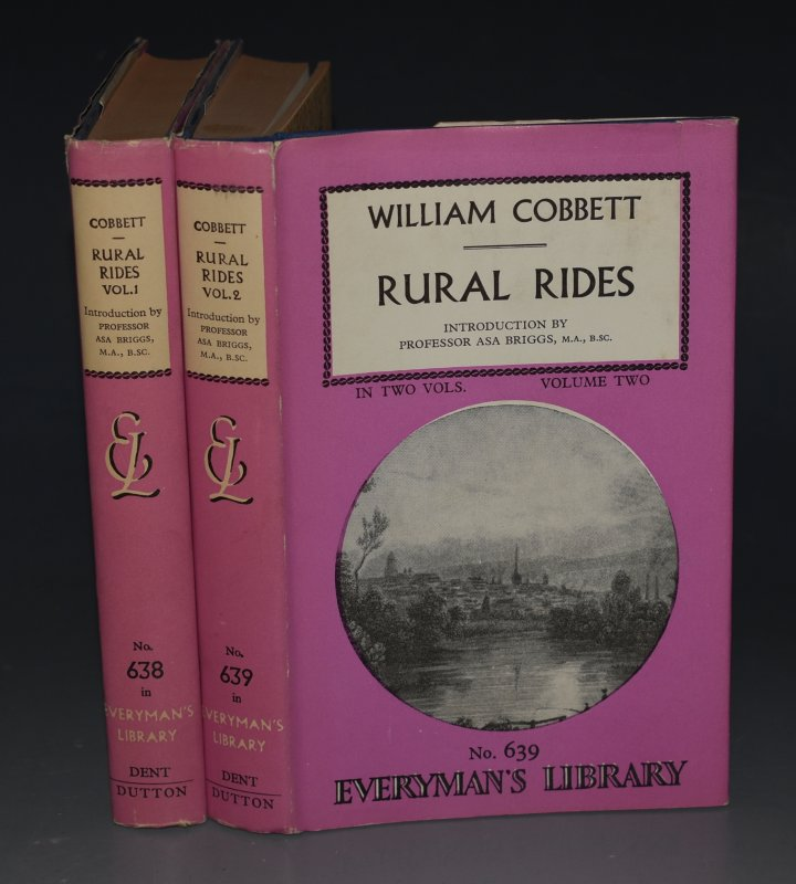 Image for Rural Rides In Two Volumes. Introduction by Professor Asa Briggs. No. 638 Everyman's Library.