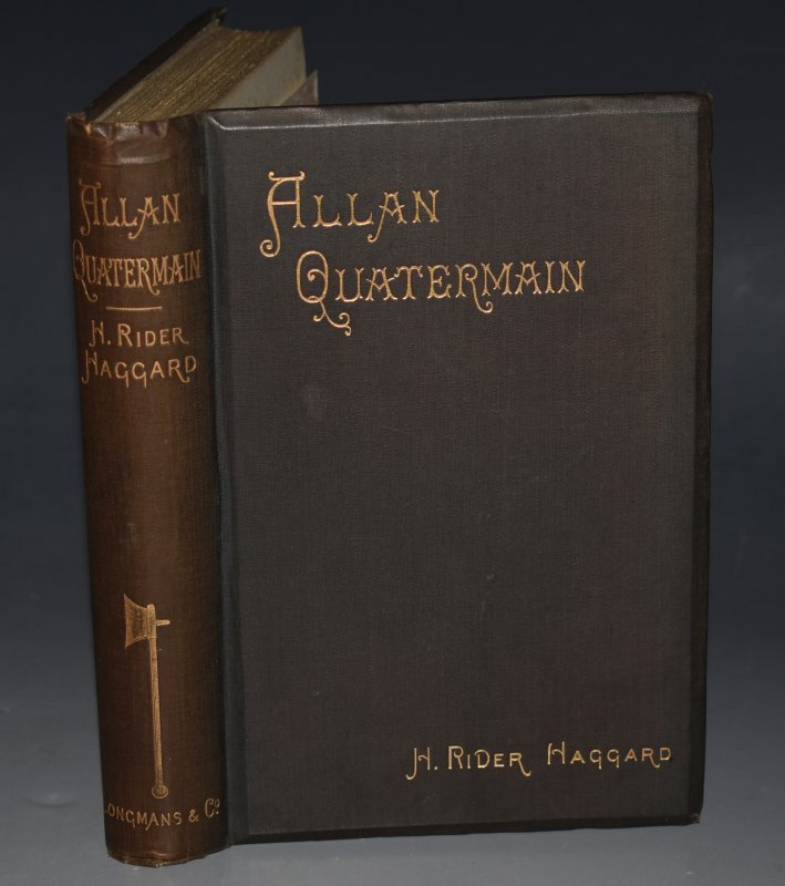 Image for Allan Quatermain Being an account of his further adventures and discoveries in company with Sir Henry Curtis, Commander John Good, and one Umslopogaas.
