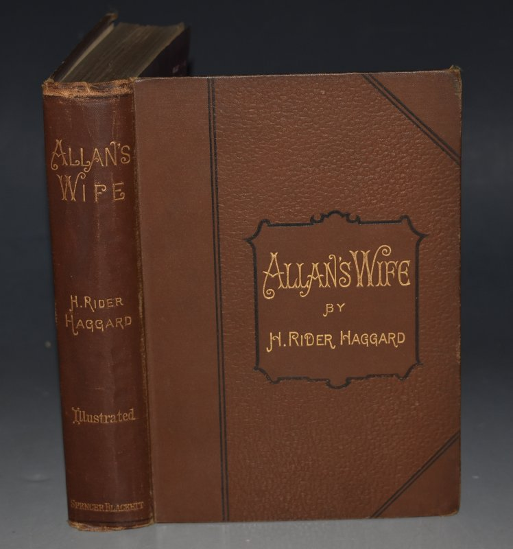 Image for Allan's Wife. And Other Tales. With Thirty-four Illustrations by Maurice Greiffenhagen and Charles Kerr.