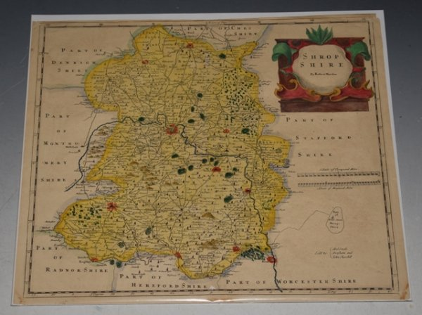 Image for Original Engraved Map of Shropshire.