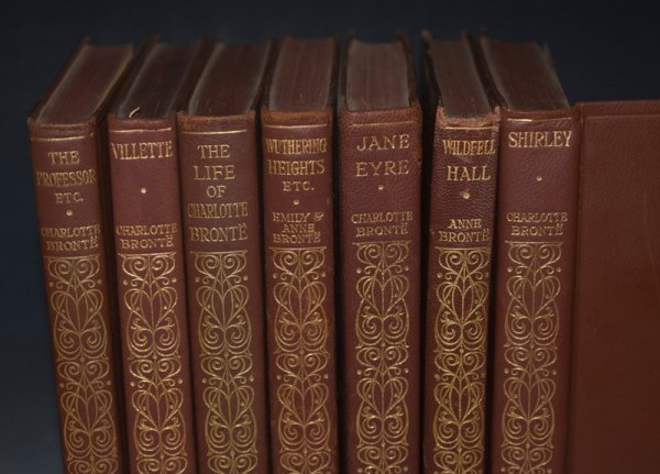 "Image for The Life and Works of Charlotte Bronte and her sisters. Haworth edition. With Introductions to the works by Mrs Humphry Ward and an Introduction and notes to the Life by Clement K. Shorter. In Seven Volumes. ""Haworth Edition"" Leatherbound on Thin Paper."