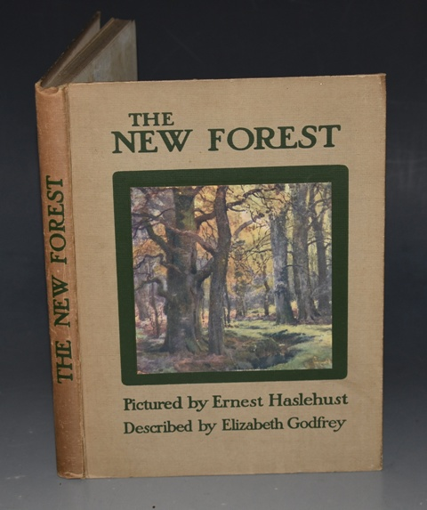 Image for The New Forest Described by Elizabeth Godfrey and Pictured by E. W. Haslehurst.