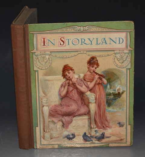 Image for How the Drummer Boy saved a Regiment. IN:  STORYLAND (pp. 7 - 14). A Volume of Original Pictures, Stories, and Verses. Written by G. A. HENTY, L .T .Meade, G. Manville Fenn, Evelyn Everett-Green, Paul Creswick, F. E. Weatherly, Maggie Browne, Sheila E. Braine,  etc.,etc. And illustrated by Ada Dennis, E. Stuart Hardy,  E. Lance, Hilda Robinson, and others. Ed.& arranged by Alfred J. Fuller.