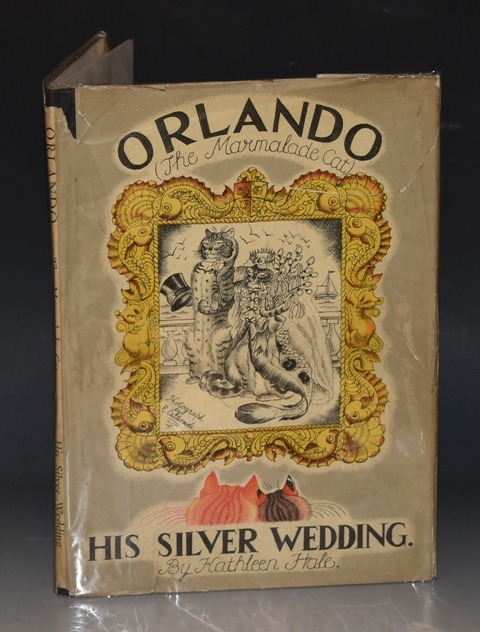 Image for Orlando The Marmalade Cat - His Silver Wedding