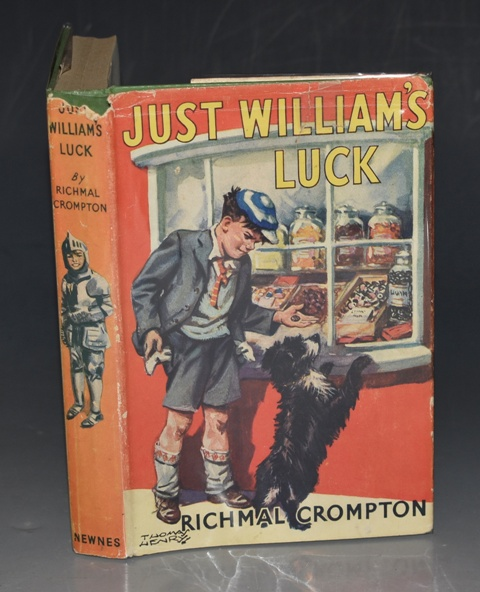 Image for Just William's Luck Illustrated by Thomas Henry.