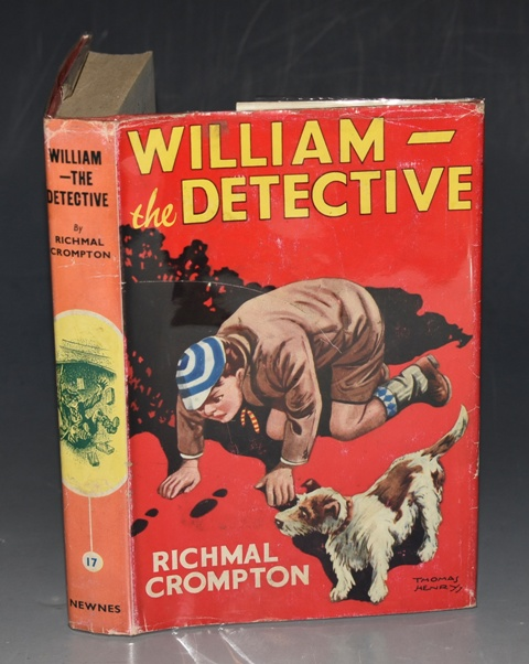 Image for William The Detective Illustrated by Thomas Henry.