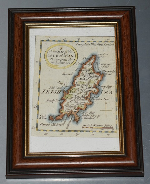Image for ORIGINAL New Map of the Isle of Man. Miniature map