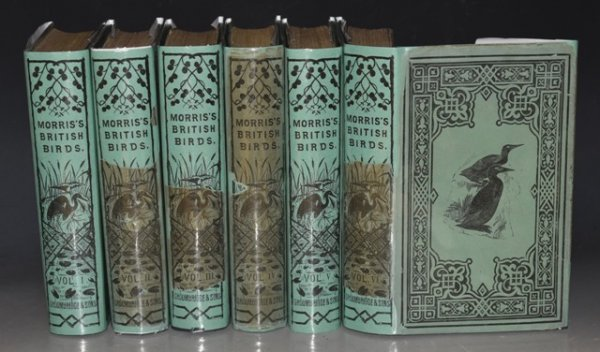 Image for A History of British Birds. Second Printing of the First Edition. In Six volumes. With Dustwrappers.