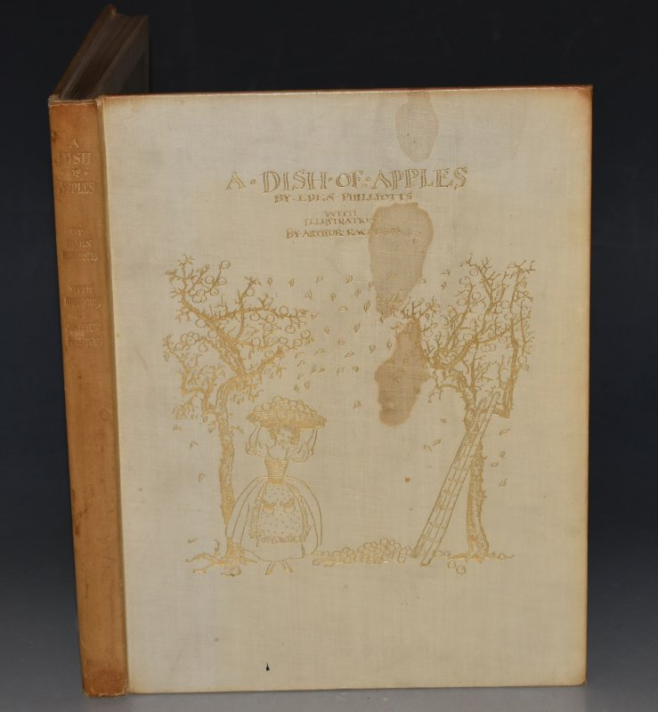 Image for A Dish of Apples. With illustrations by Arthur Rackham. SIGNED LIMITED EDITION.