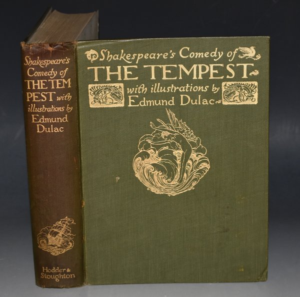Image for The Tempest By William Shakespeare, Illustrated by Arthur Rackham.