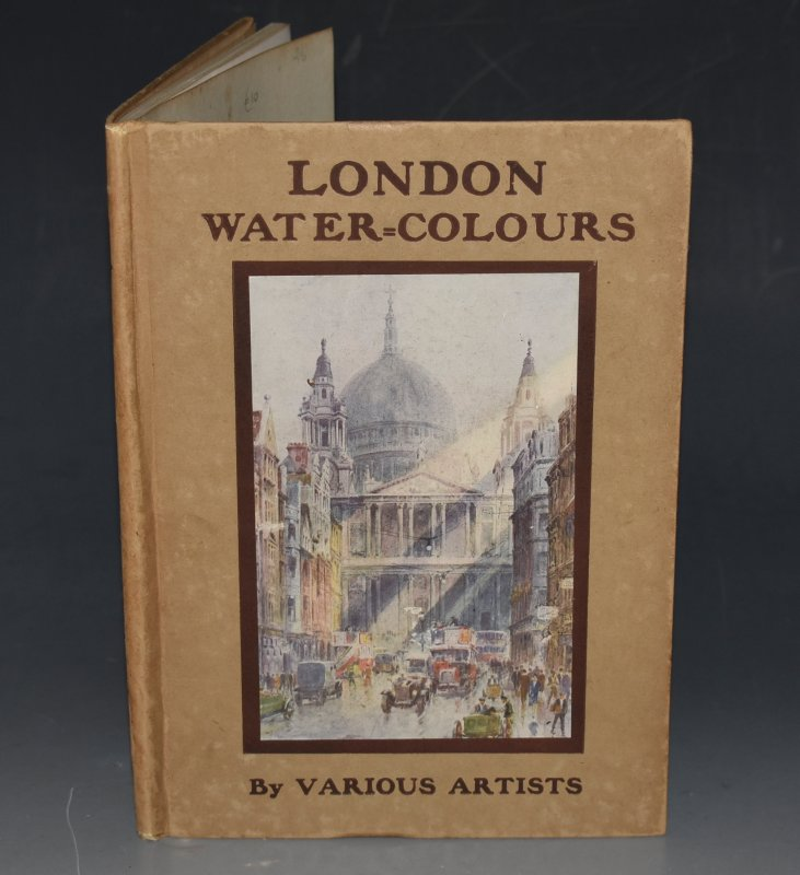 "Image for London Water-Colours Black's ""Water-Colour"" series. Containing Sixteen Full-Page Illustrations in Colour."