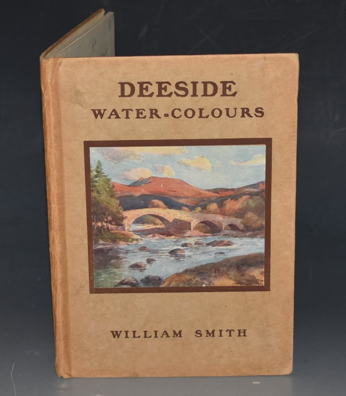 "Image for Deeside Water-Colours Black's ""Water-Colour"" series. Containing Sixteen Full-Page Illustrations in Colour."