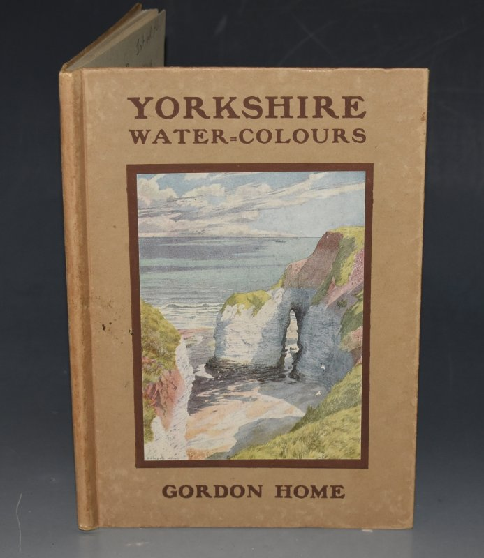 "Image for Yorkshire Water-Colours Black's ""Water-Colour"" series. Containing Sixteen Full-Page Illustrations in Colour."