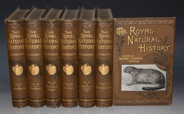 Image for The Royal Natural History. Preface by P.L.Sclater. Illustrations by W.Kuhnert, F.Specht, P.J.Smit, and others.