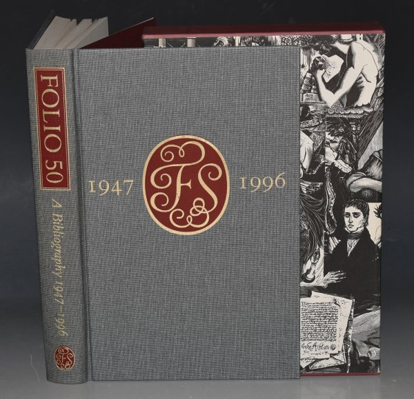 Image for Folio 50 A Bibliography of The Folio Society, 1947 - 1996.