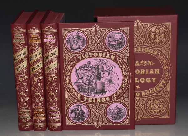 Image for Victorian Trilogy 3 Volume Set in Slip Case. Victorian Cities; Victorian People; Victorian Things.