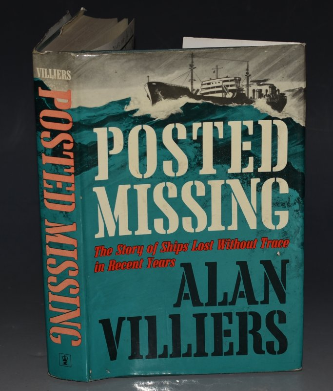 Image for Posted Missing The Story of Ships Lost Without Trace in Recent Years.