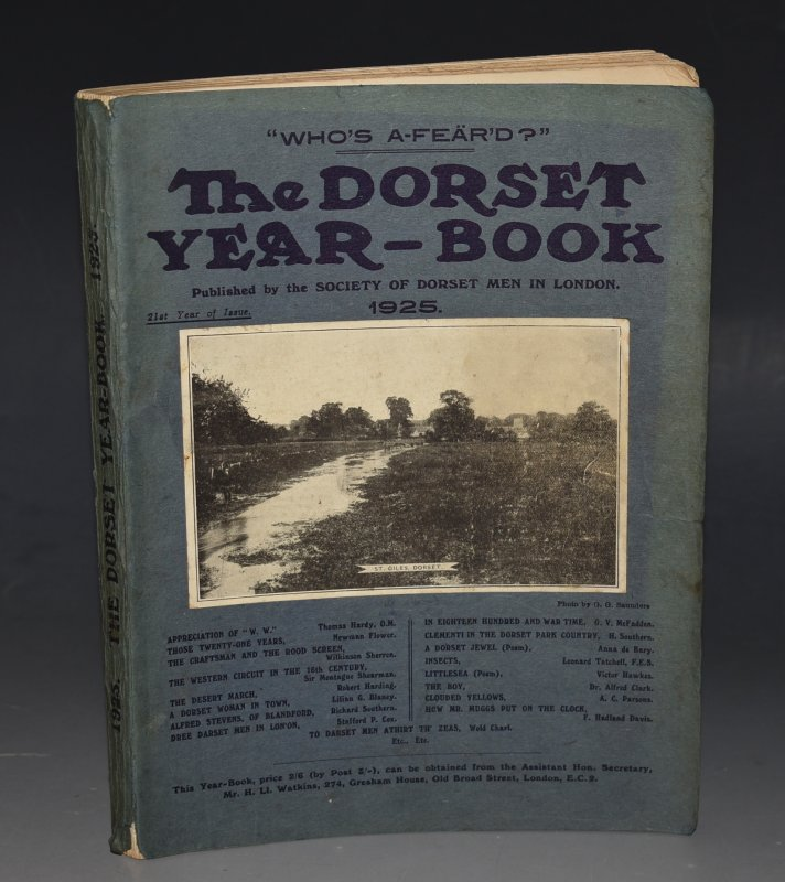 Image for The Dorset Year Book, for 1925. 21st year of issue.
