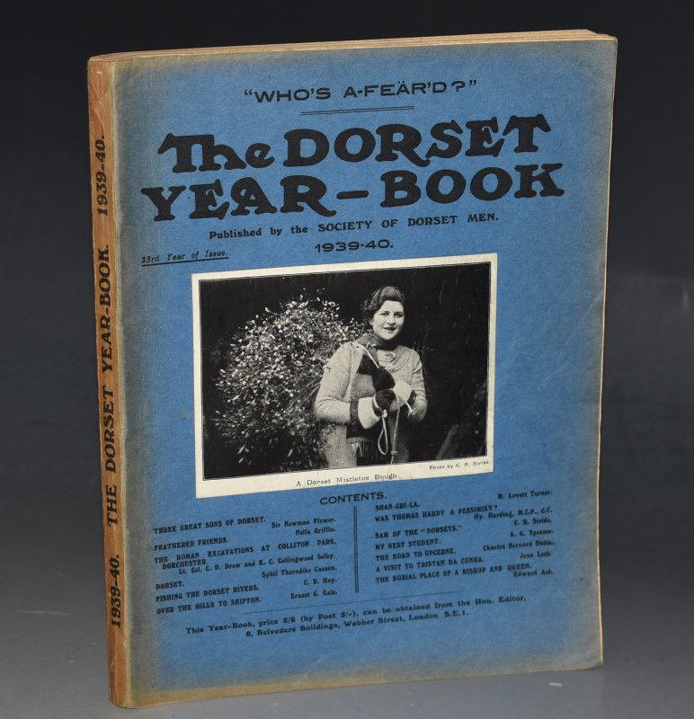 "Image for The Dorset Year Book for 1939-40. With ""The Literature of Dorset"", by H. F Johnstone (extensive bibliography of Dorset related books - 23pp.)."