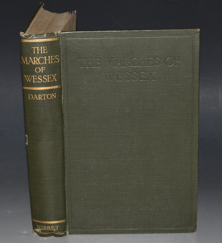 Image for The Marches Of Wessex. A Chronicle of England. SIGNED - WITH LETTERS.