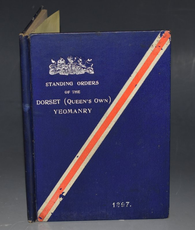 Image for Standing Orders Of The Dorset (Queen's Own) Yeomanry