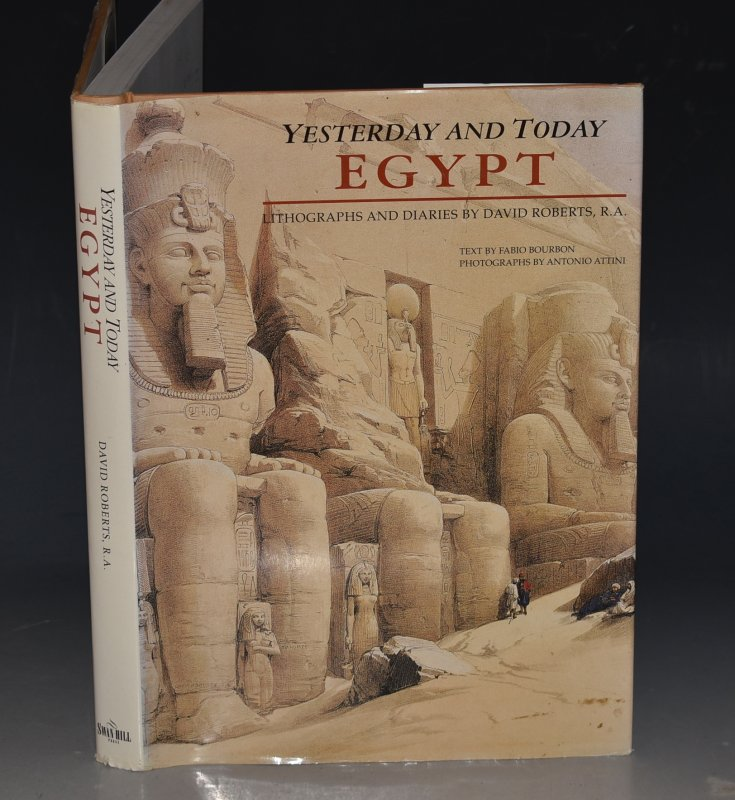 Image for Egypt Yesterday and Today Lithographs by David Roberts.