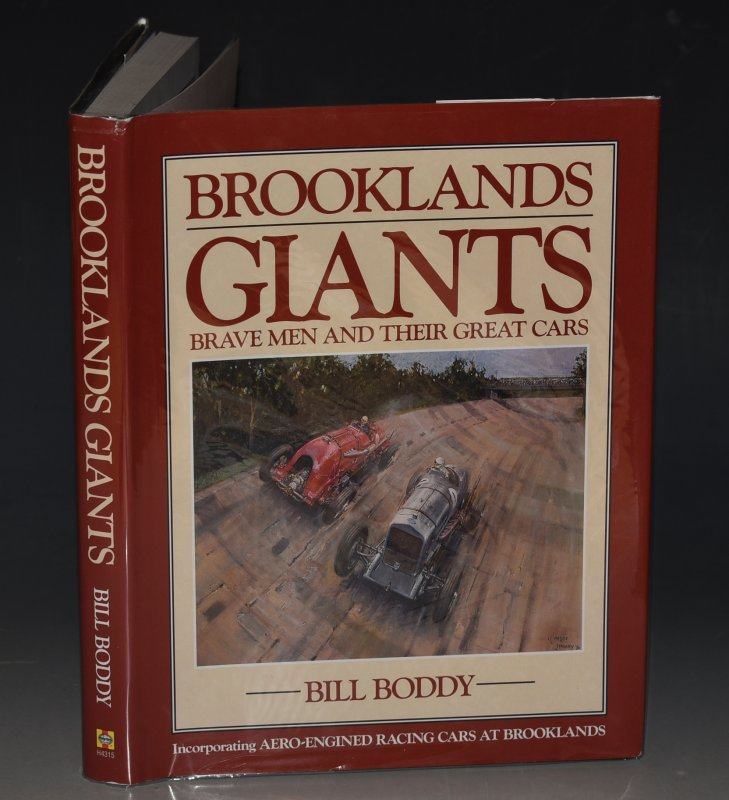 Image for Brooklands Giants Brave Men and Their Great Cars