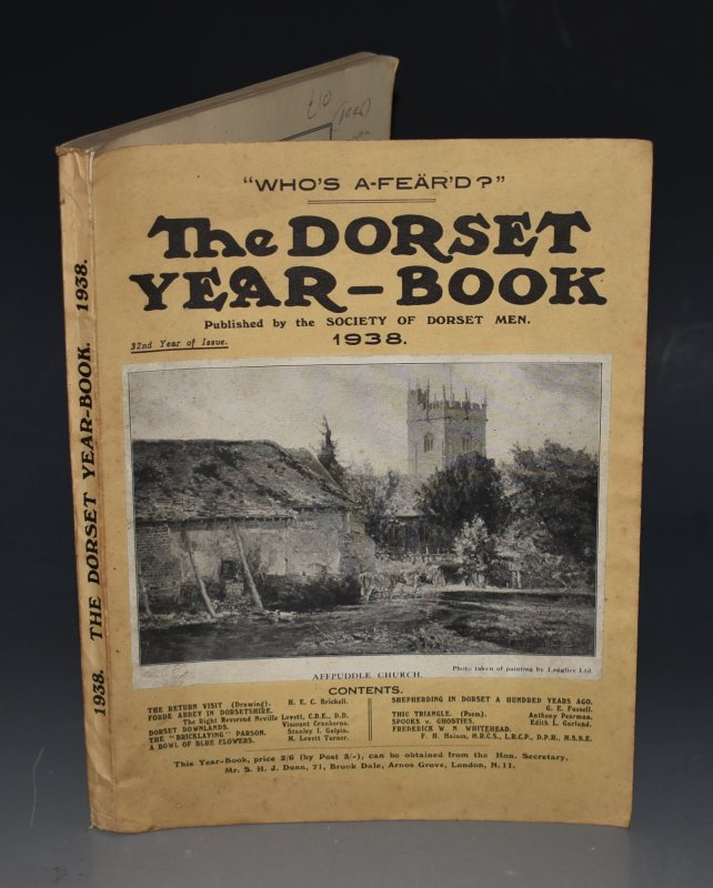 "Image for The Dorset Year Book for 1938. With ""The Literature of Dorset"", by H. F Johnstone (extensive bibliography of Dorset related books - 23 pp.)."