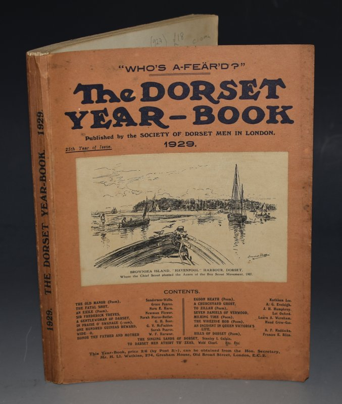 Image for The Dorset Year Book. 1929. 25th year of issue.