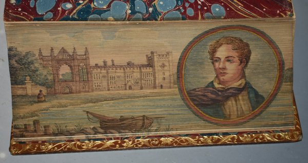 "Image for The Poetical Works of Lord Byron. (Fore edge Painting) Reprinted from the Original Editions. The ""Chandos Poets"". WITH EXPLANATORY NOTES, ETC."