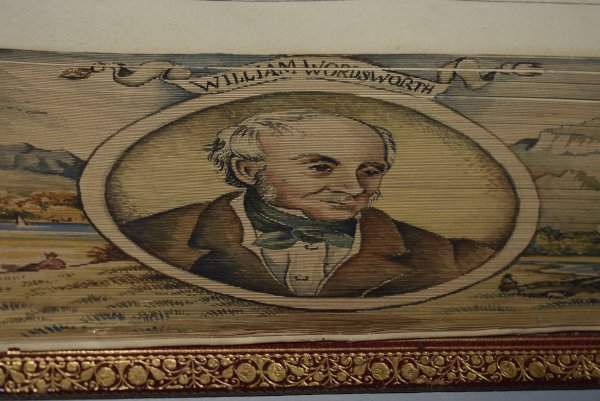 The Poetical Works of William Wordsworth. (DOUBLE Fore edge Painting) (The Only Complete Popular Edition)