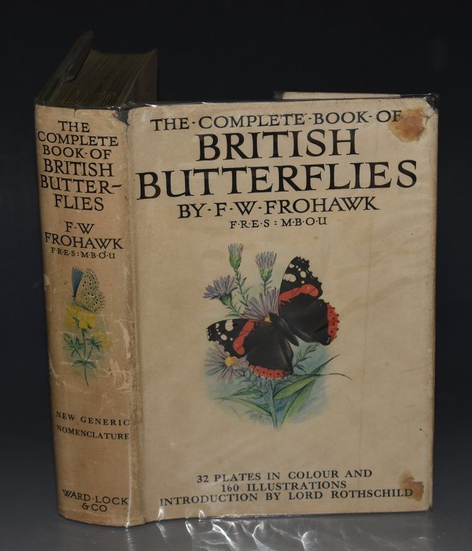 Image for The Complete Book of of British Butterflies. Foreword by Lord Rothschild. 32 Colour Plates, Over 160 Unique Sketches from Life.